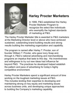 Harley Procter Marketers